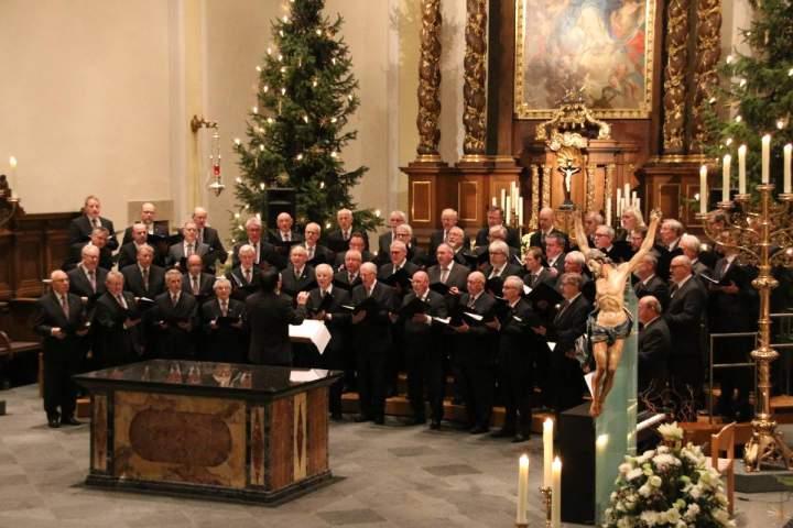 Weihnachtskonzert des Kolpingchor Bocholt