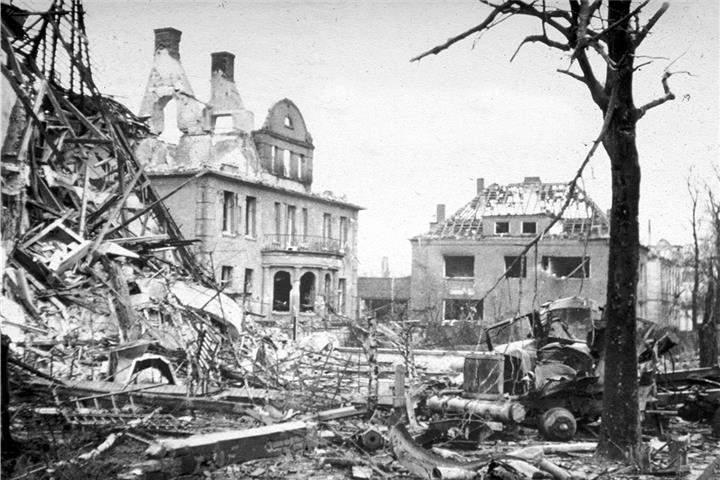 Zerstörung der Stadt Bocholt