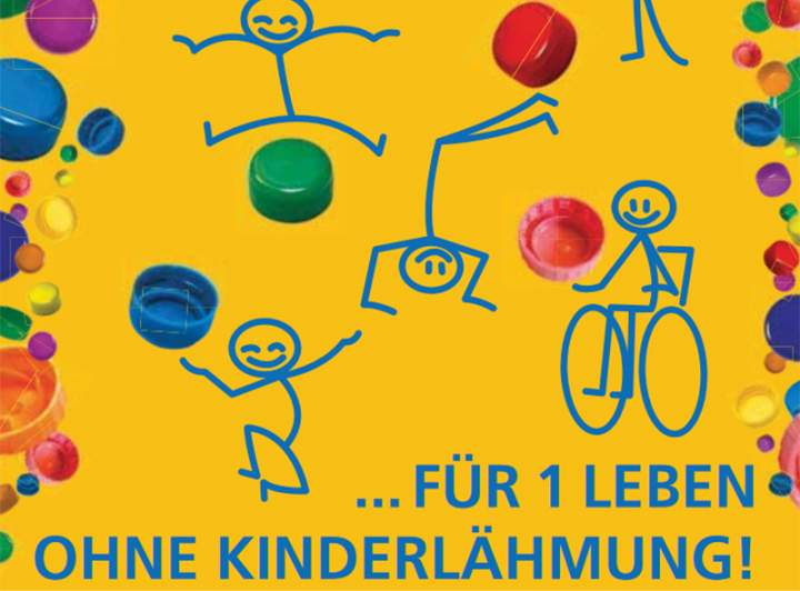 Deckelaktion gegen Kinderlähmung geht in Bocholt weiter!
