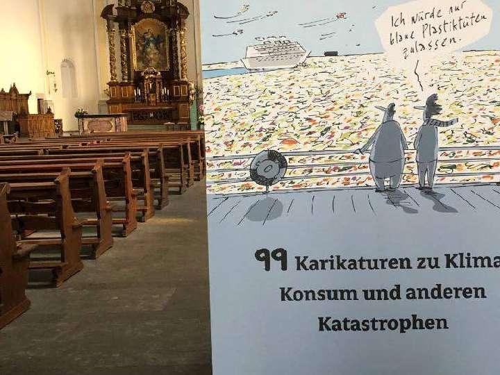 Ausstellung in der Liebfrauenkirche: Glänzende Aussichten