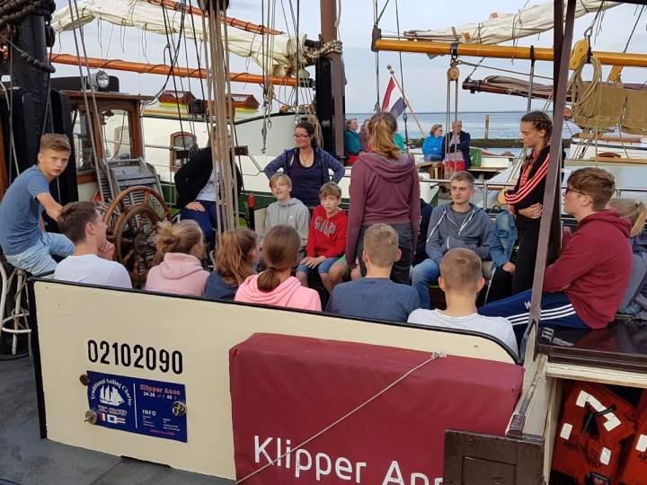 Segelfreizeit Tag 1 - von Harlingen nach Terschelling