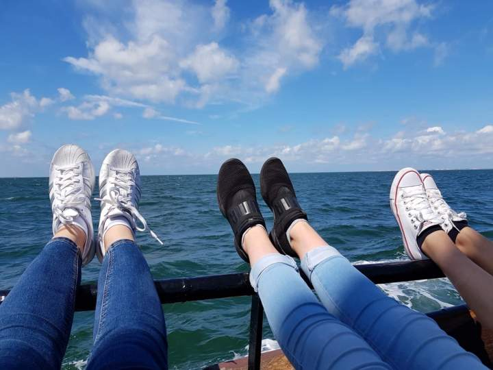 Segelfreizeit Tag 2 - von Terschelling nach Vlieland