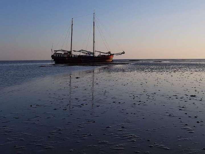 Segelfreizeit Tag 4 - von Ameland aus gestrandet