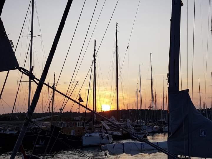 Segelfreizeit Tag 5 - wieder Richtung Vlieland