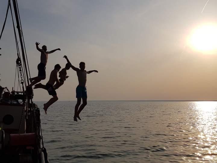 Segelfreizeit Tag 6 - von Vlieland nach Makkum