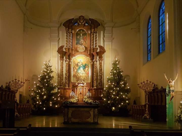Weihnachtsliedersingen mit den Kirchenchören von Herz-Jesu und Liebfrauen