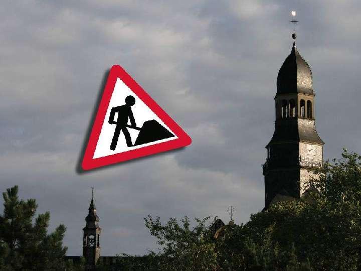 Kirchturm der Liebfrauenkirche wird saniert