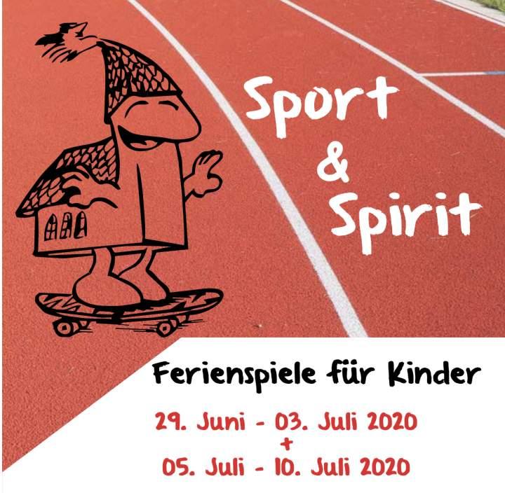 Anmeldung für Sport and Spirit