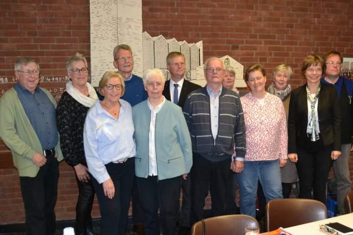 Jahreshauptversammlung Herz-Jesu-Chor: Neuwahlen und 9 neue Mitglieder in 2019
