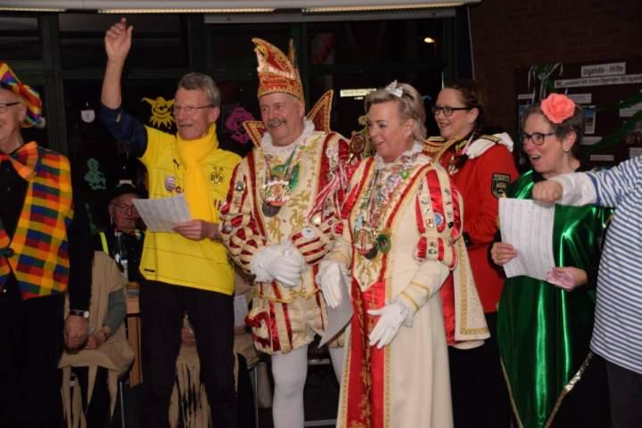 Karnevalsfeier beim Herz-Jesu-Chor: Wie ein Feuerwerk