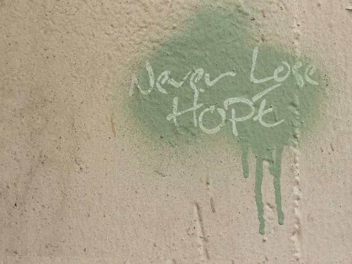 Beistand, Trost und Hoffnung