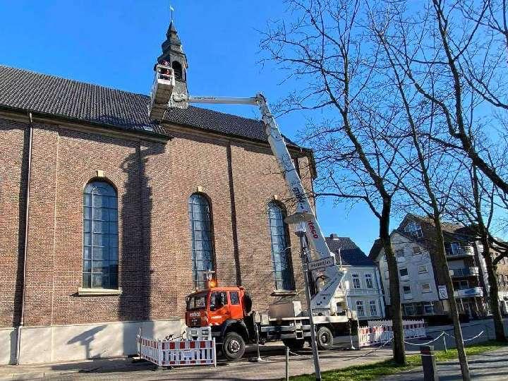 Dachreiter über der Kapelle der Liebfrauenkirche nachgebessert