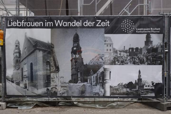 Liebfrauenkirchturm: Kreuz-Abnahme