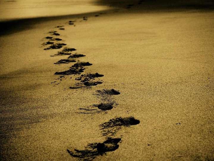 Impuls am Abend - In Jesu Fußstapfen
