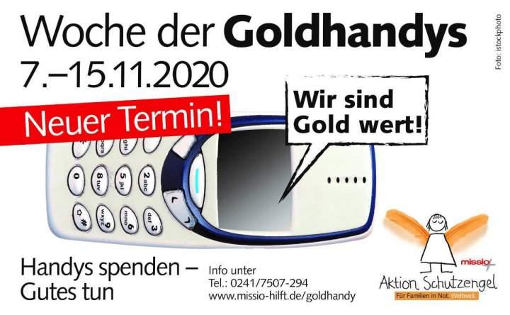 "Aktionswoche ""Goldhandys"" - Mach mit!"