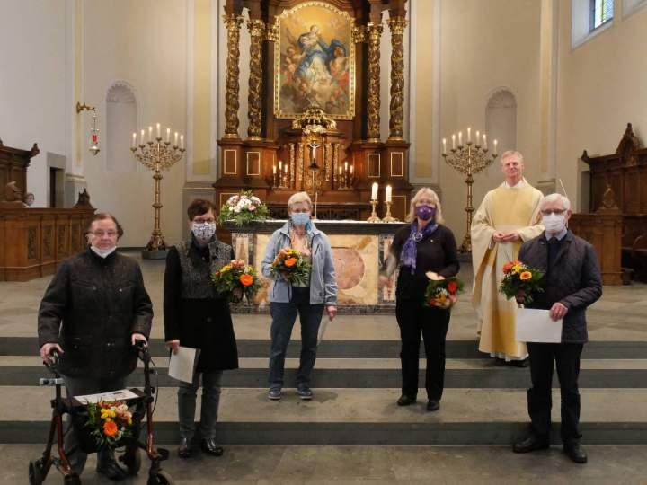 Der Kirchenchor Liebfrauen feierte sein Cäcilienfest