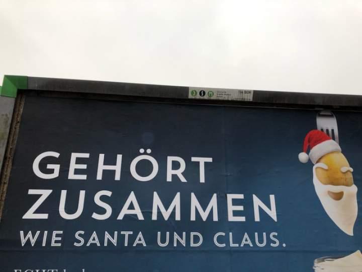 Adventskalender - Wie Santa und Claus