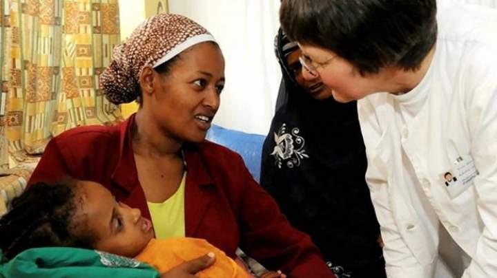 Über 33.000 € für Sr. Rita in Äthiopien