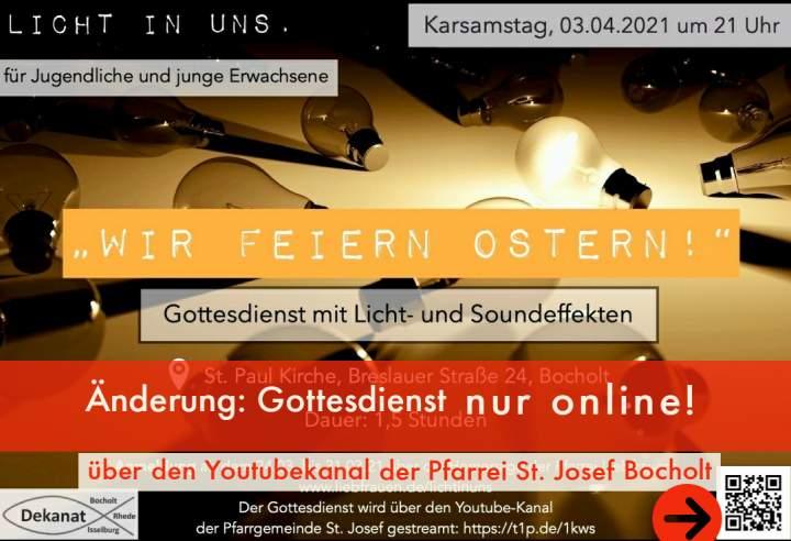 """""""Licht in uns"""" - Livestream"""