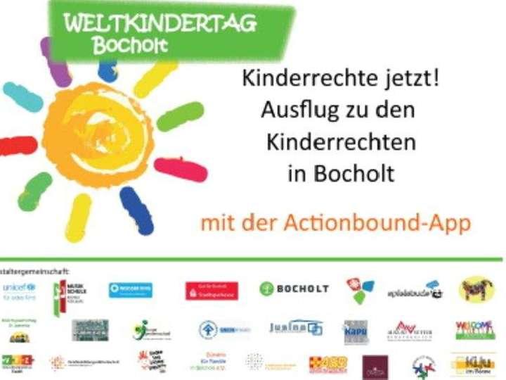 Actionbound: Kinderrechte jetzt! Ausflug zu den Kinderrechten