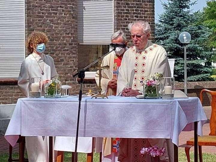 Goldenes Priesterjubiläum von Pfarrer Heinrich Seegers
