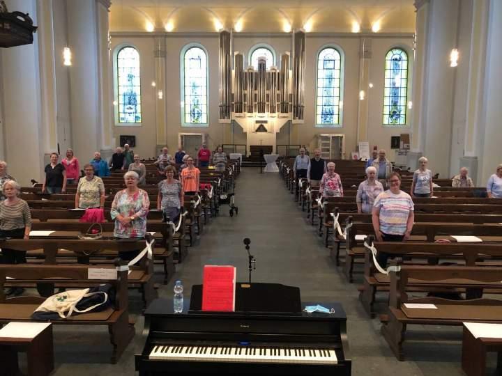 Kirchenchor Herz-Jesu: Es darf wieder gesungen werden