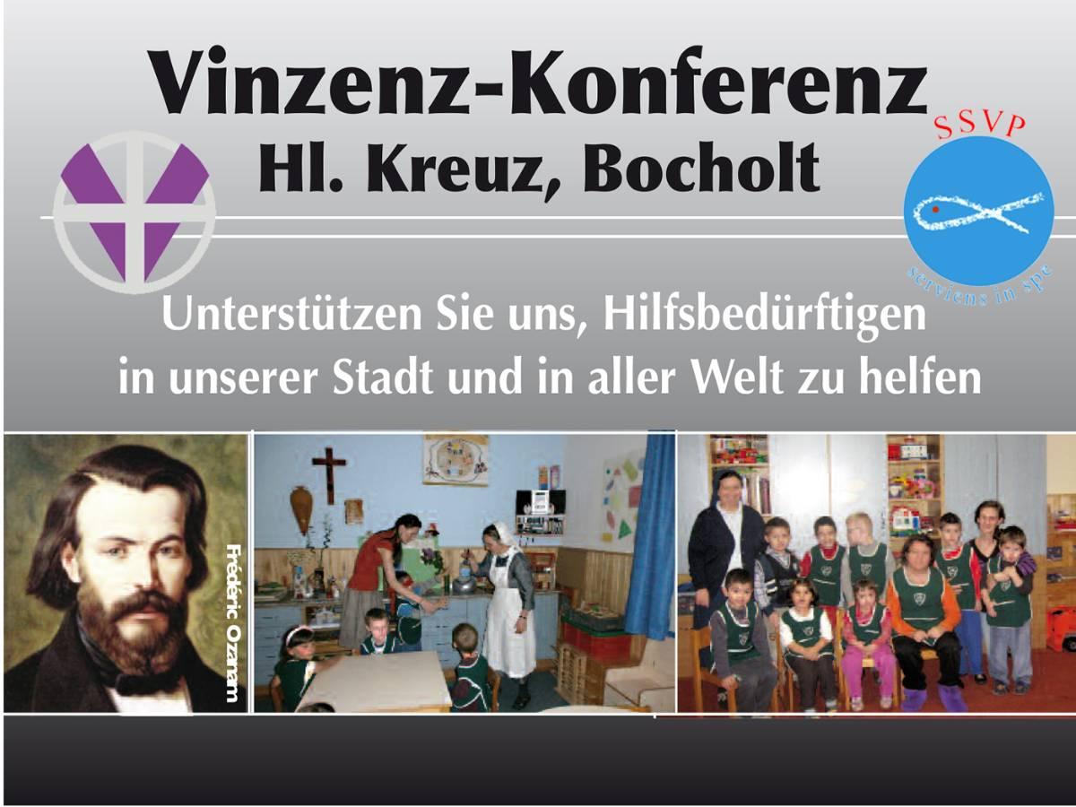 Türenkollekte der Vinzenzkonferenz Heilig Kreuz