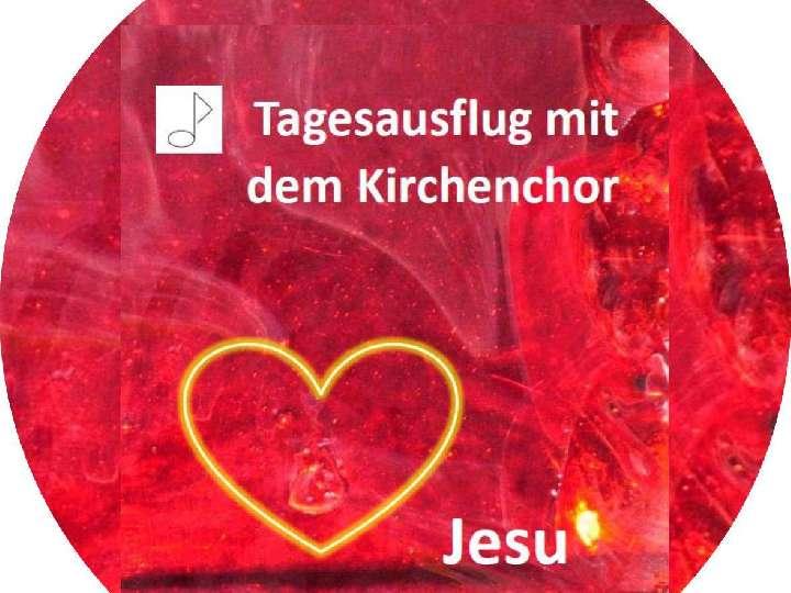 Tagesausflug des Kirchenchores Herz-Jesu