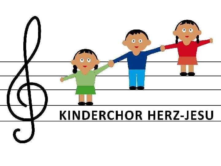 Kinderchor Herz-Jesu singt beim Familiengottesdienst mit Kostümen