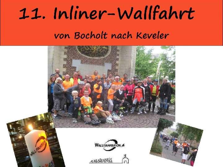 11. Inliner-Wallfahrt nach Kevelaer