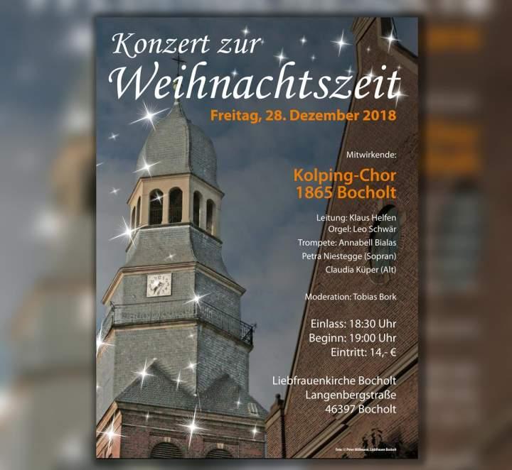 Konzert zur Weihnachtszeit -Kolping-Chor