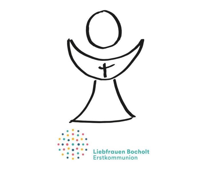Messfeier mit Erstkommunion in der Liebfrauenkirche