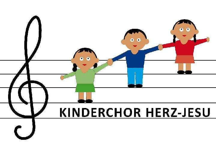 Generalprobe Kinder- u. Jugendchor Herz-Jesu für die Familienmesse in St. Helena