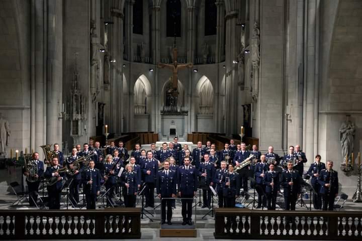 Wohltätigkeitskonzert des Luftwaffenmusikkorps Münster