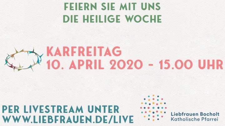 Livestream Karfreitag