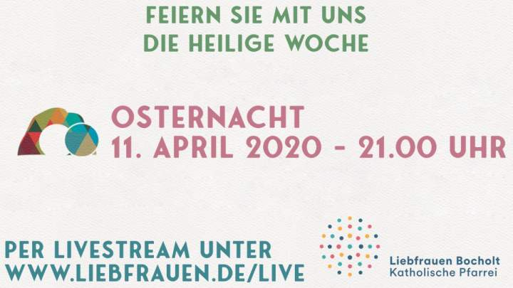 Livestream Osternacht