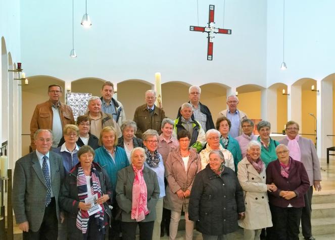 Kirchchor Heilig Kreuz unter der Leitung von Alfons Buttermann - 2018