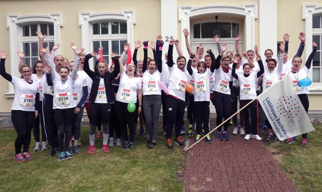 5 Kilometer Bocholter Citylauf - Liebfrauen läuft
