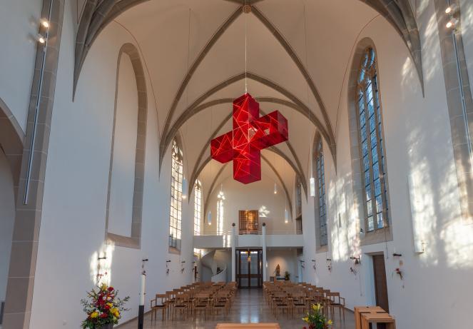 Kreuz St. Agnes Kapelle Bocholt - Ludger Hinse